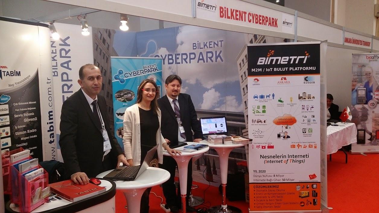 Bimetri, Bilişim Derneğinin Düzenlediği Citex 2014 Fuarında