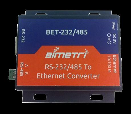 BET-232/485 Seri Ethernet Dönüştürücü